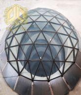 گنبدها و نورگیرهای شیشه ای آرچی تاج